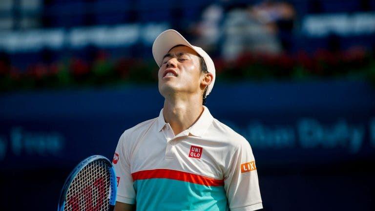 Kei Nihikori no participará en las clasificatorias de la Davis Cup