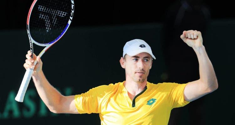 Australia avanza sobre Brasil en el 1° día de la Copa Davis