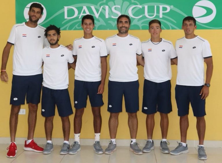 Copa Davis: Tenistas paraguayos hacen historia con sus triunfos