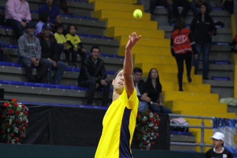 Copa Davis: Daniel Galán le da el primer punto a Colombia
