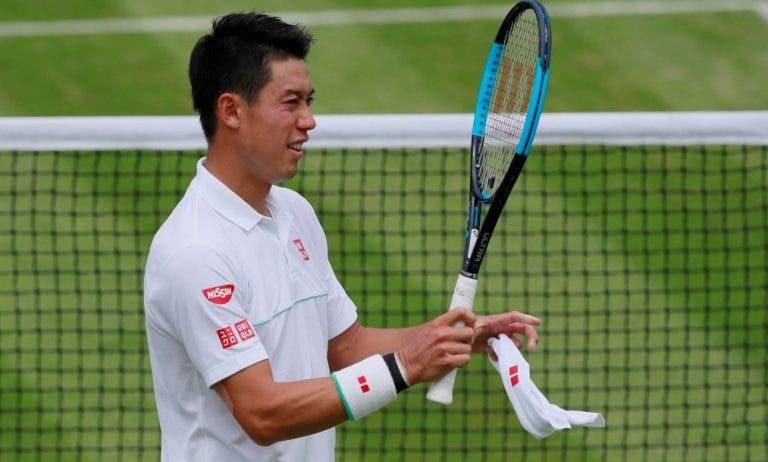 Para Nishikori es un alivio que pospusieran los Juegos Olímpicos