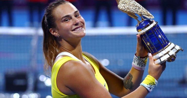 Sabalenka: «sabía que tenía que dar lo mejor de mí si quería salir como campeona»