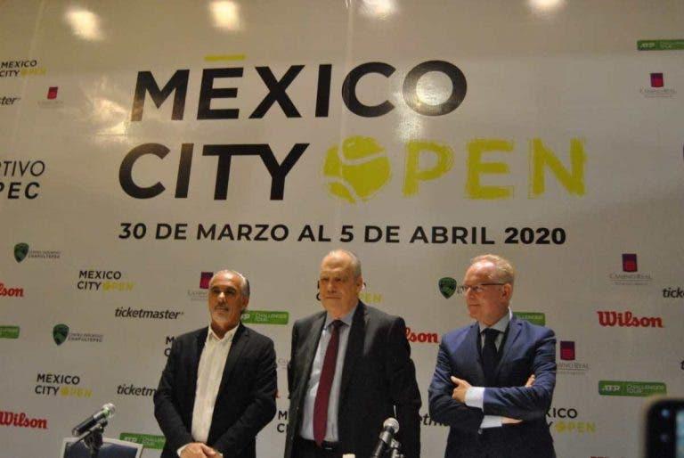 Torneos suspendidos por coronavirus y el Challenger de Ciudad de México anuncia su entry list