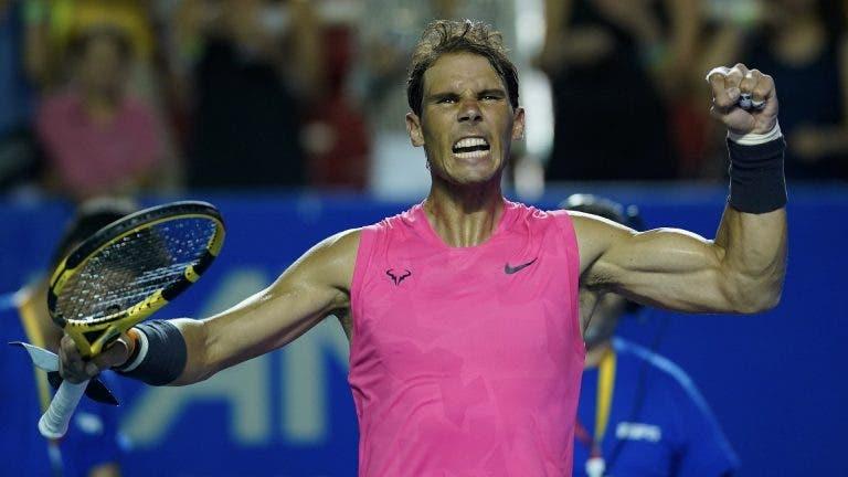 ¡Rafael Nadal se luce y es el campeón de Acapulco 2020!