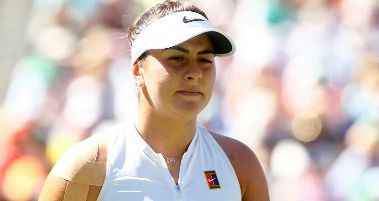 Campeona Bianca Andreescu se baja del Indian Wells