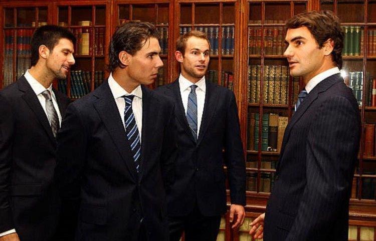 Roddick cree que es muy temprano para definir el GOAT entre el Big Three