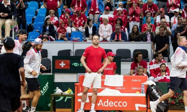 Sin Federer y Wawrinka, Suiza confirma debacle y cae a la 3ª división en la Copa Davis