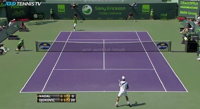 [VIDEO] Djokovic y Nadal jugaron una de sus mejores finales hace 9 años