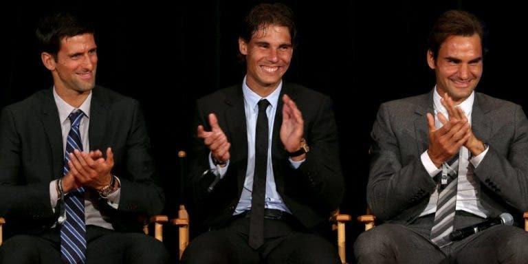 El Big Three es uno en la lucha contra el Covid-19 y Federer lo demuestra