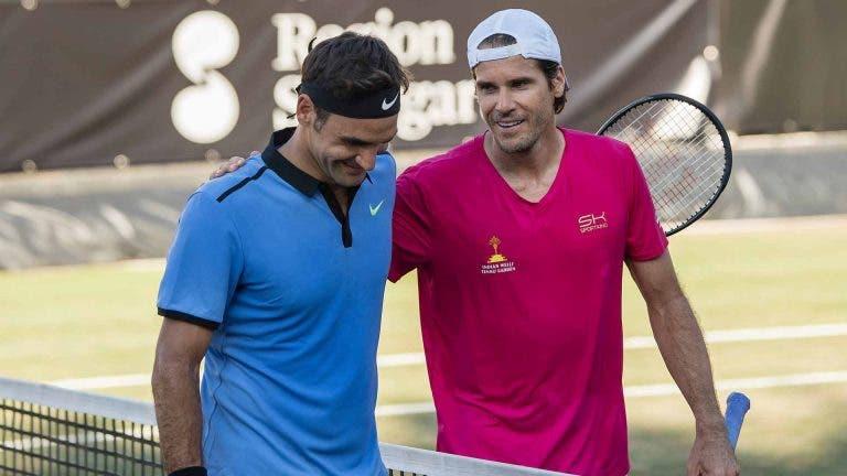 «Cuando ves jugar a Roger Federer a su edad, solo puedes admirarlo»