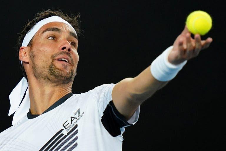 Fognini sueña con enfrentar a Federer en una final de Roland Garros