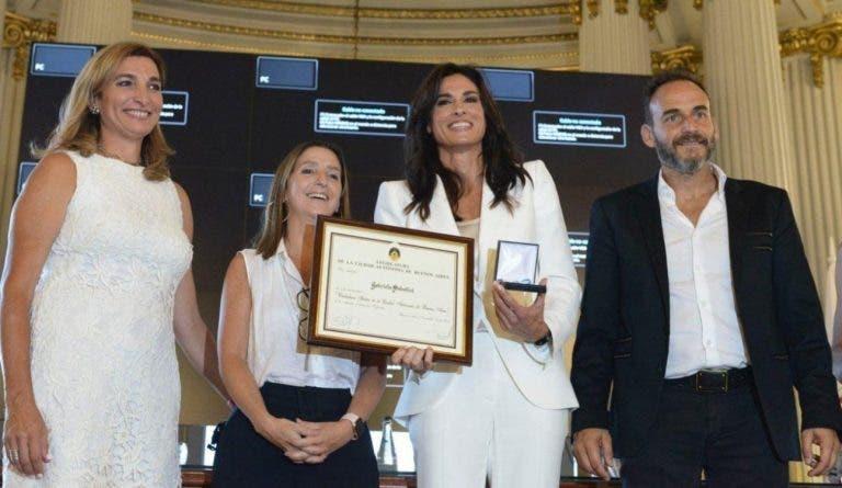 Gabriela Sabatini y un importante reconocimiento en su país