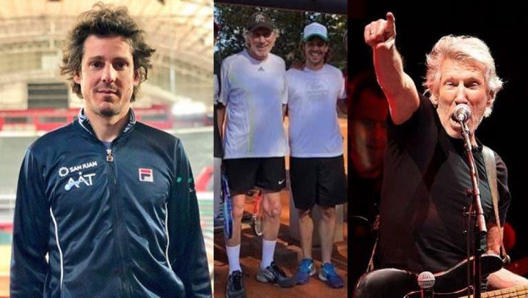 Gastón Gaudio y su encuentro tenistico con Roger Waters