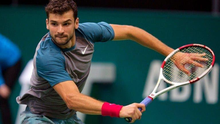 Dimitrov jugará en el World Team Tennis y no en los Juegos Olímpicos