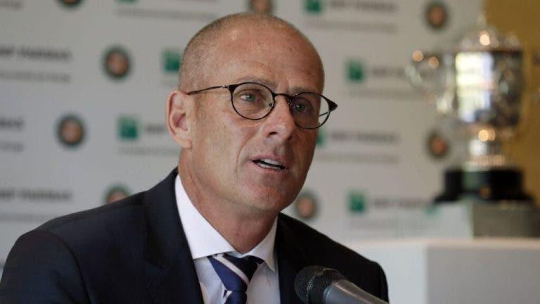 Guy Forget: «Sería un problema organizar Roland Garros a puerta cerrada»