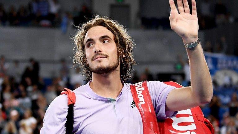 Stefanos Tsitsipas y su emoción por volver a jugar Copa Davis