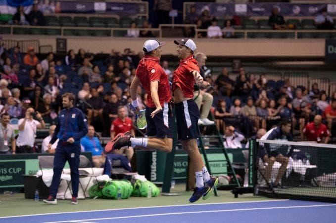 Mike Bryan: «Extrañaremos el ambiente que genera la Copa Davis»