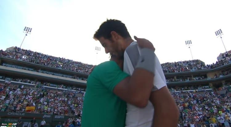 [VIDEO] Inolvidable: Hace siete años, Nadal y Del Potro disputaron final en Indian Wells