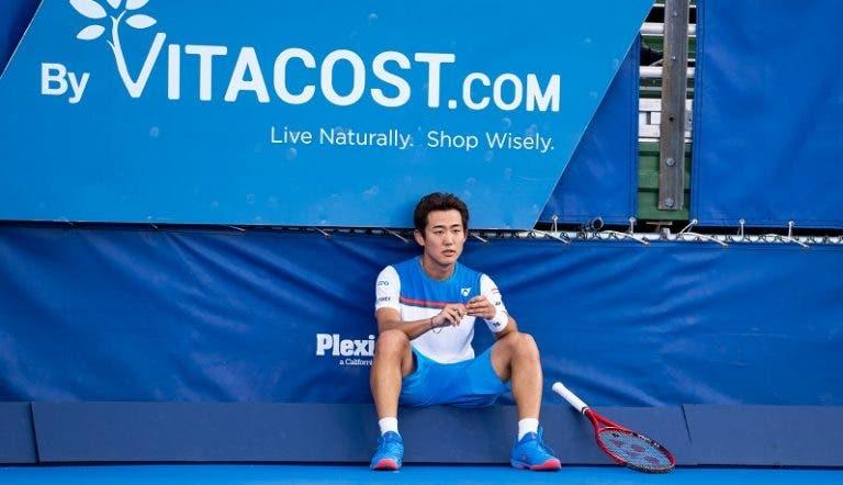 Yoshihito Nishioka cuestiona la realización del US Open
