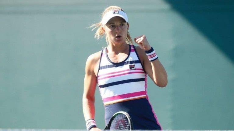 Nadia Podoroska: «Me fui a dormir pensando que se jugaba mi partido»