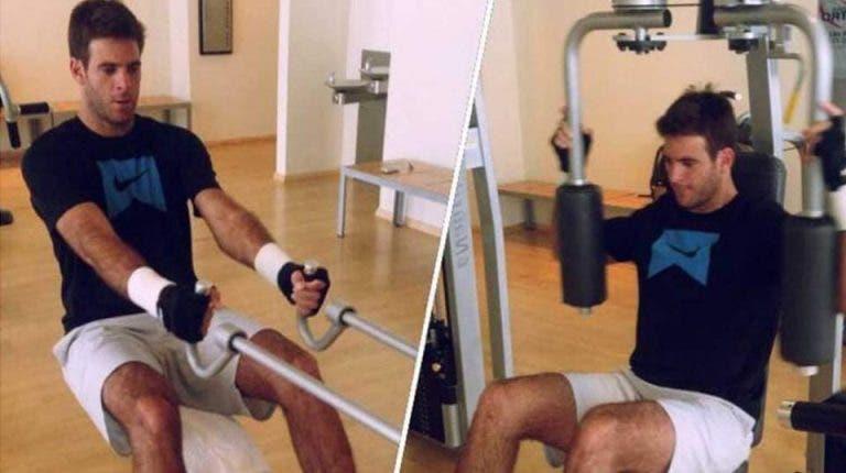 Juan Martín Del Potro comparte un video de su rehabilitación