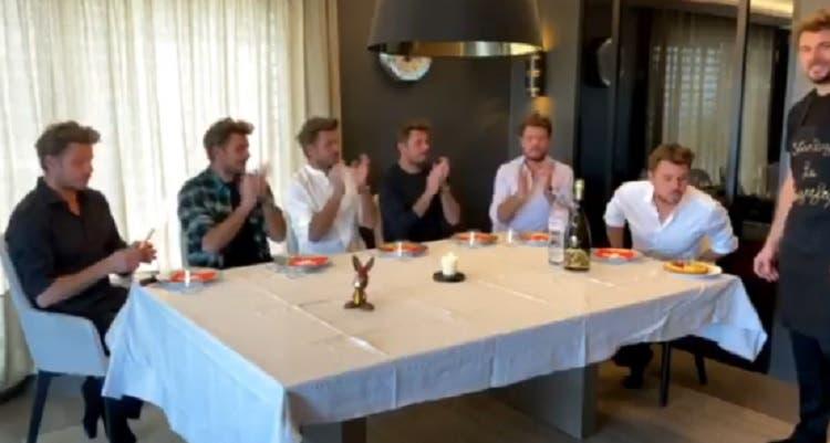 [VIDEO] Wawrinka revela cómo festejó su cumpleaños en plena cuarentena