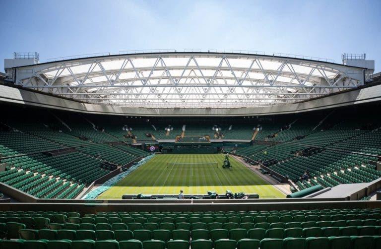 Wimbledon lleva ventaja: el torneo está asegurado contra pandemias