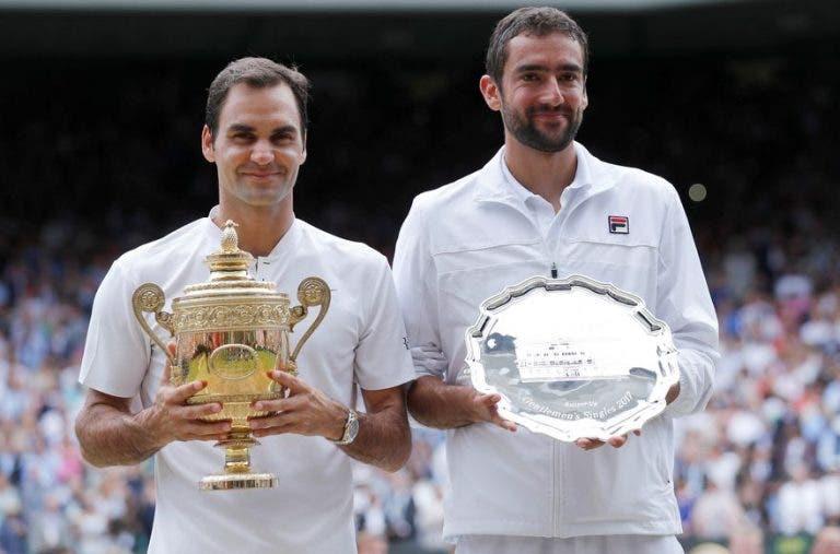 Marin Cilic cree que la suspensión del circuito ha beneficiado a Federer