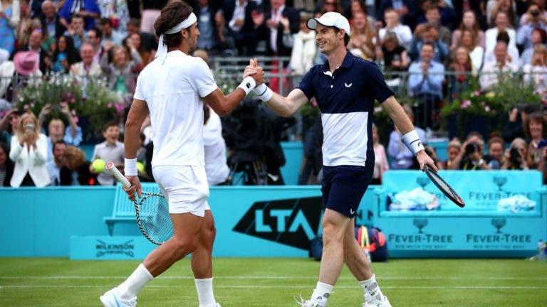 Andy Murray bromea con Feliciano López en Instagram