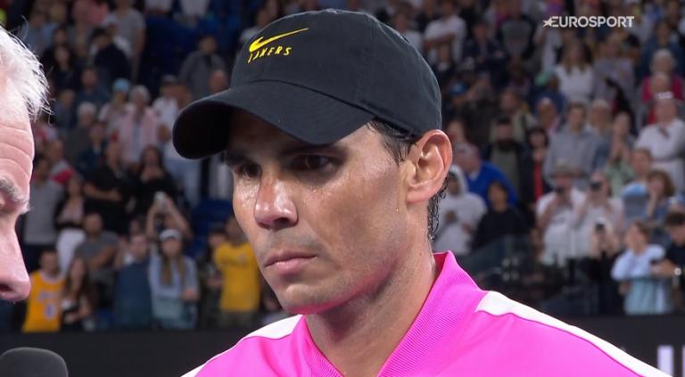 Toni Nadal dice que en estos momentos Rafa no quiere saber de tenis