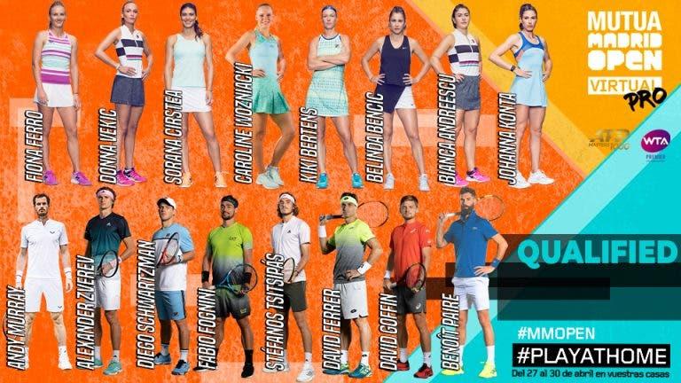 Vea qué tenistas pasaron a los cuartos de final del Mutua Madrid Open