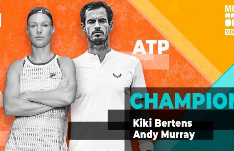 ¡Murray y Bertens se coronan campeones del Mutua Madrid Open virtual!