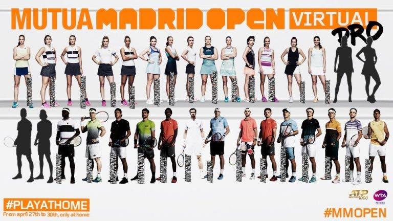 Todo sobre el Madrid Open Virtual, torneo que inicia el próximo 27 de abril
