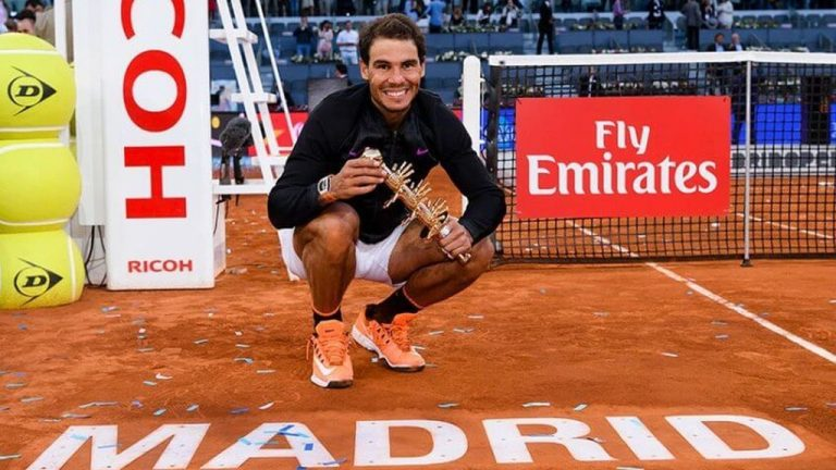 Rafael Nadal participará en el Mutua Madrid Open Virtual Pro