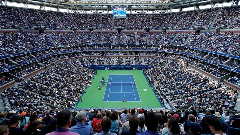 El US Open reacciona a la cancelación de Wimbledon y sigue en pie