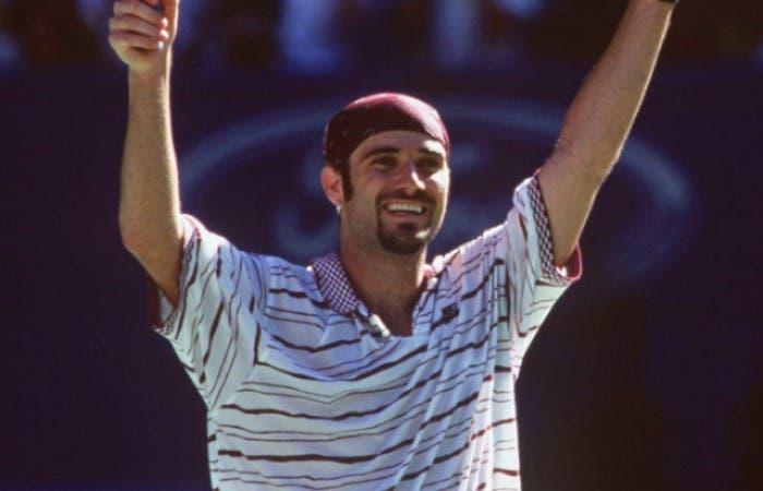 Hoy se cumplen 25 años desde que Agassi llegó al número uno por 1° vez