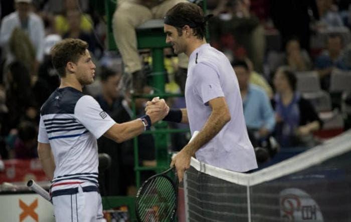 Schwartzman revela la broma que le hace Federer cada vez que se encuentran