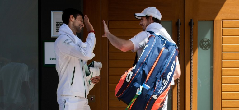 Djokovic y Murray harán un en vivo juntos en Instagram
