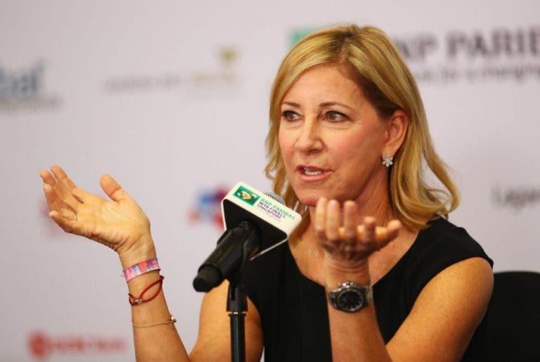 Evert y el coronavirus: «Me enorgullece la respuesta del mundo del tenis»
