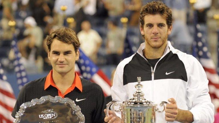 Del Potro revela dato curioso sobre la final del US Open 2009 ante Federer