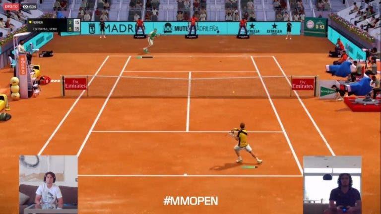 Tsitsipas pasó a las semifinales del Mutua Madrid Open Virtual Pro
