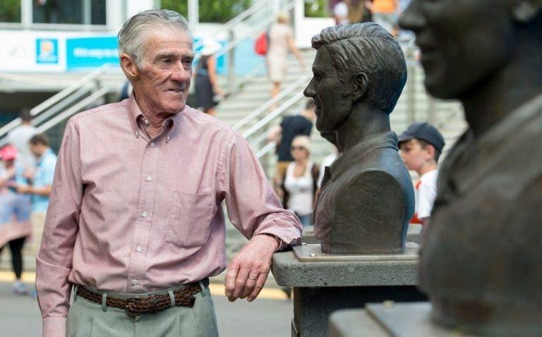 Falleció esposa del 4 veces campeón del Open de Australia, Ken Rosewall