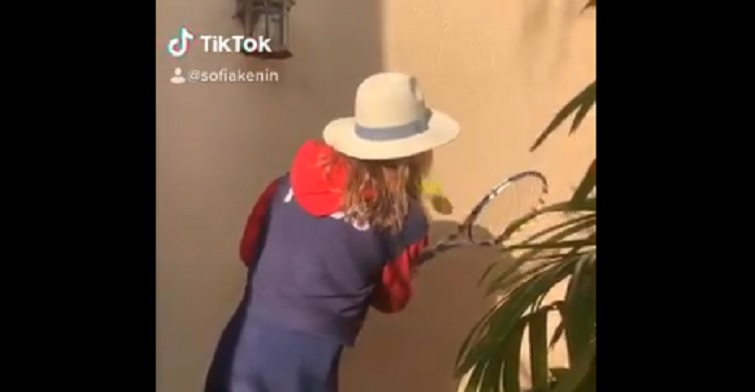 [VIDEO] Sofia Kenin y Toni Kroos también responden al desafío de Federer