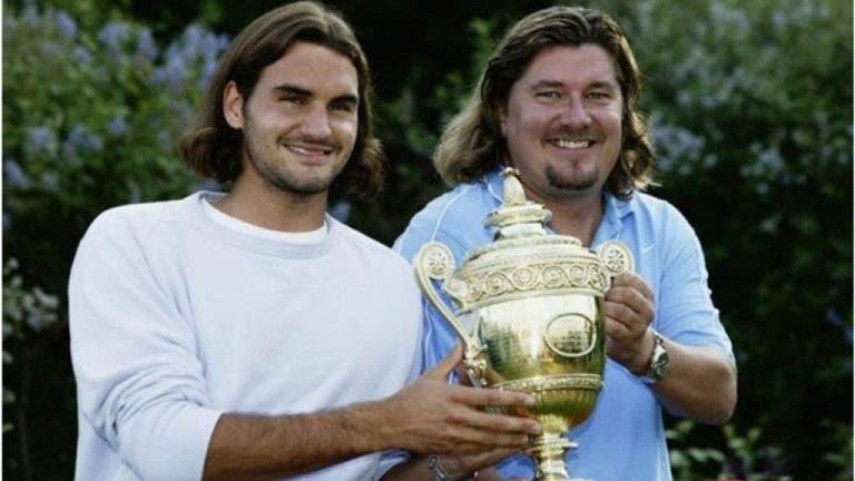 Exentrenador de Federer critica la relación entre jugadores y entrenadores