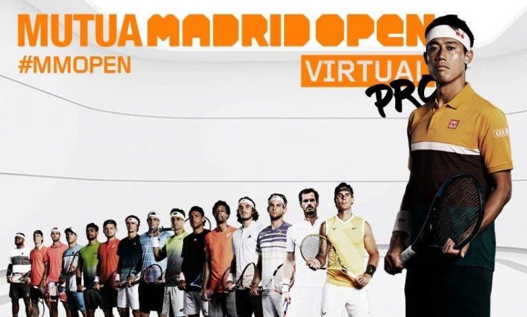 Madrid Open Virtual pro: orden de juegos del primer día