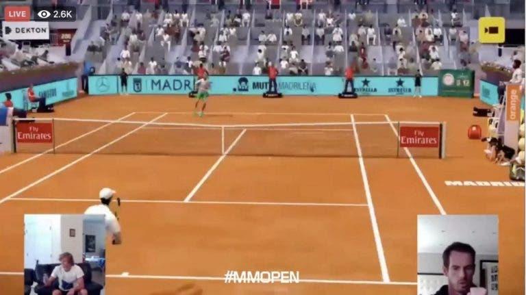 Murray vence a Zverev y está en las semifinales del Madrid Open virtual