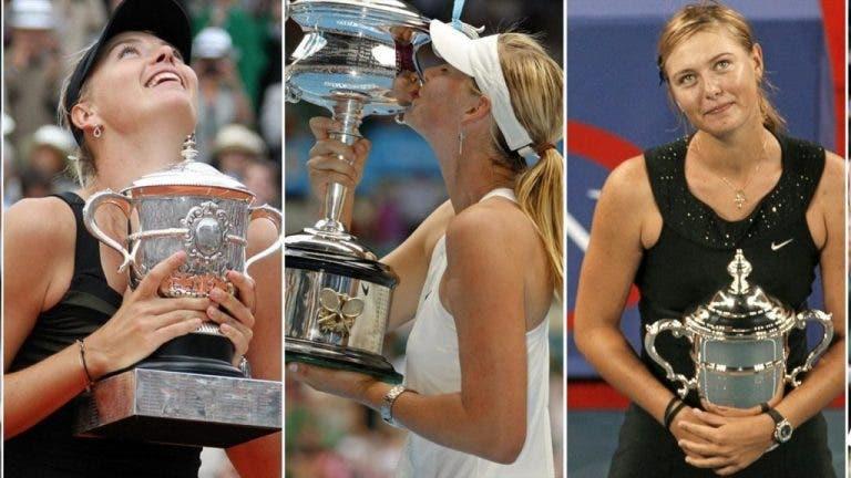 ¡Sharapova cumple 33 años! Y lo celebramos con sus cinco títulos de Grand Slam