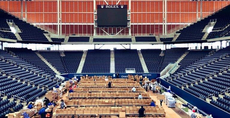 [FOTOS] Así luce el estadio del Open de EE.UU. en la lucha contra el Covid-19