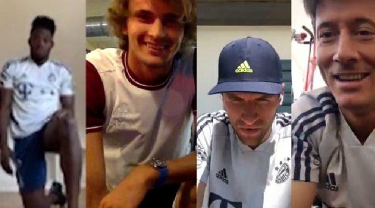 [VIDEO] Hermanos Zverev entrenan con jugadores del Bayern Munich