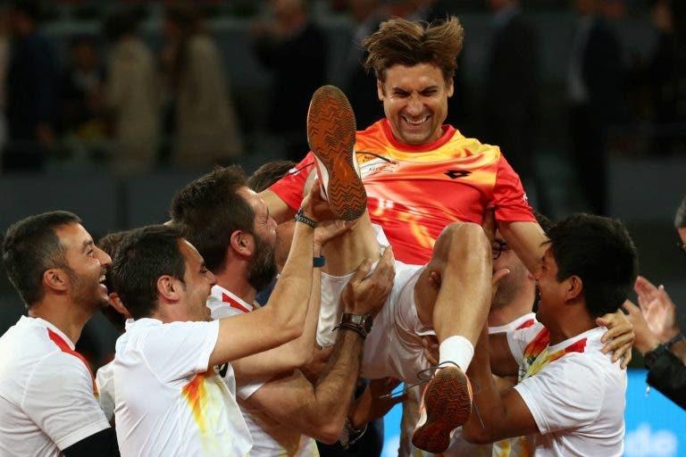 David Ferrer habla sobre su último encuentro en el Madrid Open